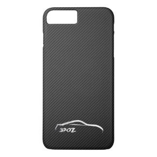 Nissan 370Z White Silhouette Logo iPhone 7 Plus Case