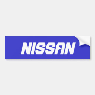 Nissan Bumper Sticker