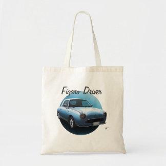 Nissan Figaro Driver Bag Pale Aqua Tote Bag