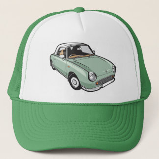 Nissan Figaro Emerald Green Trucker Hat