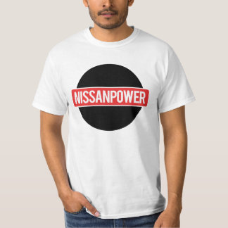Nissan Power Logo White T Shirt