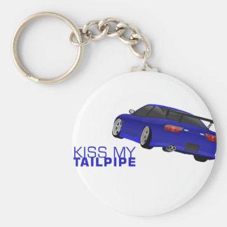 Nissan s13 (180sx/200sx/240sx) - Blue Basic Round Button Key Ring