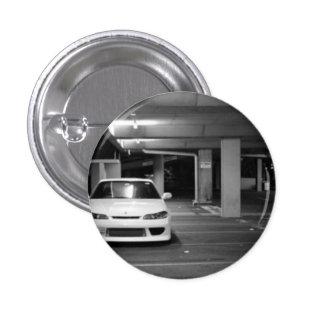 Nissan Silvia pin/plates 3 Cm Round Badge