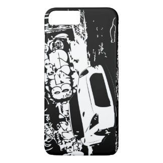 Nissan Skyline GTR with Graffiti Backdrop iPhone 7 Plus Case