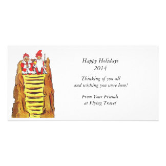 Nisse Gnome King and Queen Picture Card