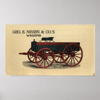 Nissen Wagon- 1823 Poster