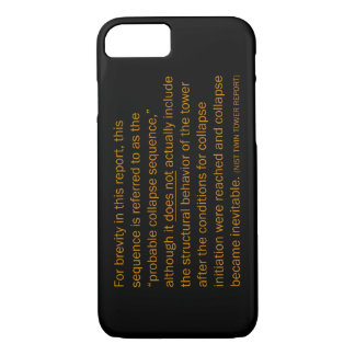 NIST Twin Tower Report iPhone 7 Case