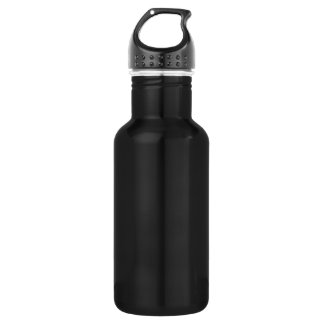 Nite Black Liberty Aluminum Template 532 Ml Water Bottle