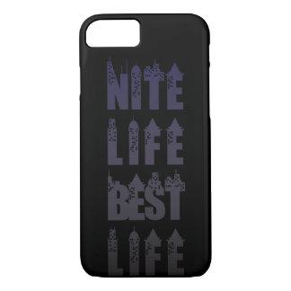 Nite Life Best Life iPhone Case