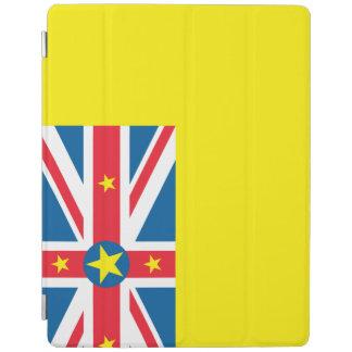 Niue Flag iPad Cover