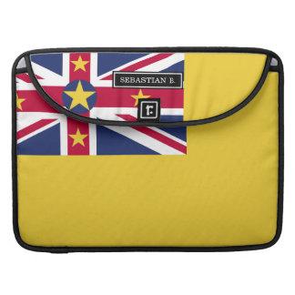 Niue Flag MacBook Pro Sleeves