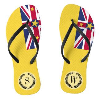 Niue Flag Thongs
