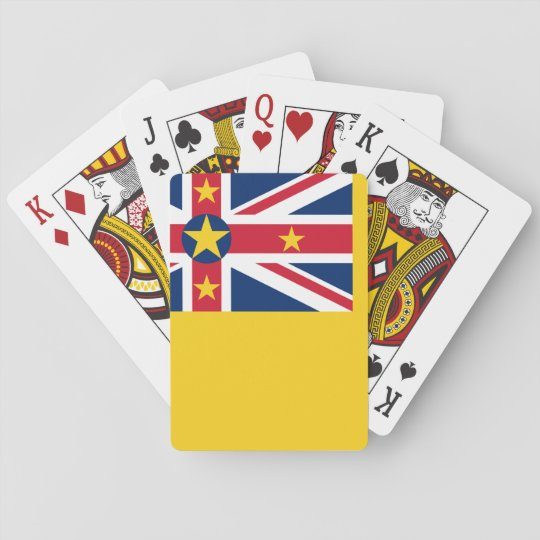 Niue National World Flag Playing Cards