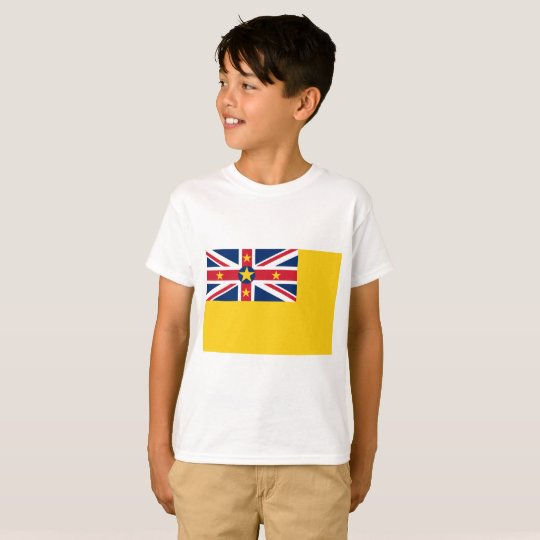 Niue National World Flag T-Shirt