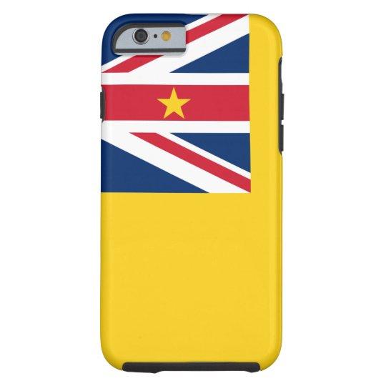 Niue National World Flag Tough iPhone 6 Case