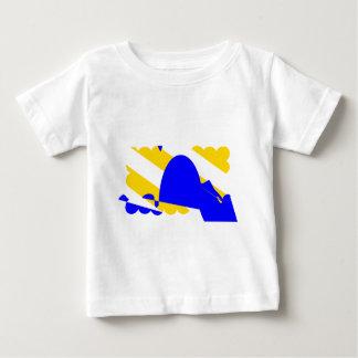 nivernais-province-Flag Baby T-Shirt