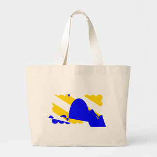 nivernais-province-Flag Large Tote Bag