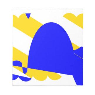 nivernais-province-Flag Notepad