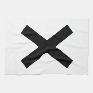 Niwa muscle intersection tea towel