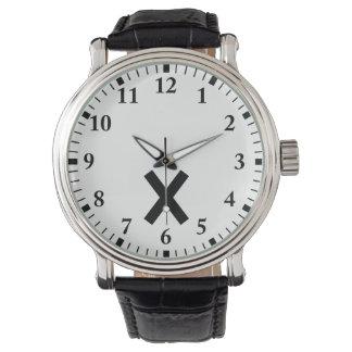 Niwa muscle intersection wristwatches