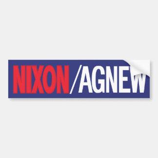 Nixon 1968 Bumper Sticker