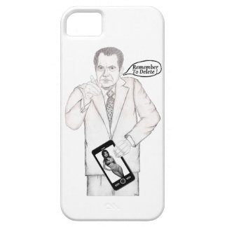 """NIXON CELL PHONE COVER """"Remember To Delete"""""""