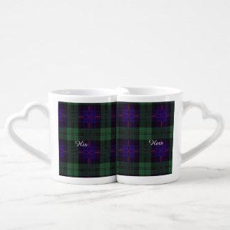 Nixon clan Plaid Scottish kilt tartan Couples Mug
