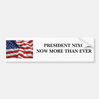 Nixon For President Bumper Sticker