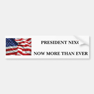 Nixon For President - Customized Bumper Sticker