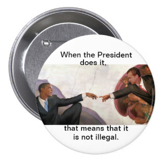 Nixon & Obama: Soul Mates 7.5 Cm Round Badge