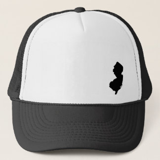 NJ - Black Trucker Hat