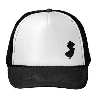 NJ - Black Trucker Hat