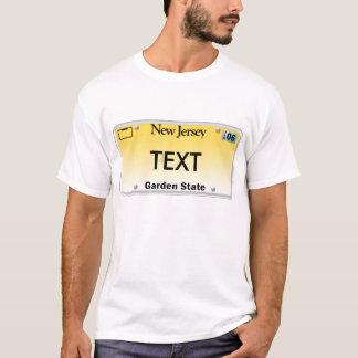 NJ License Plate T-Shirt