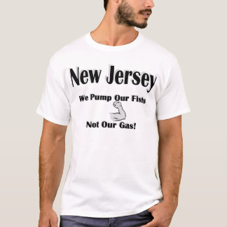 NJ Pump Our Fists Not Gas T-Shirt