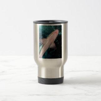 NJ Shark CB Stainless Steel Travel Mug