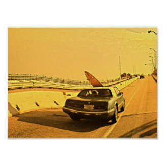 NJ Surfing Kook Poster