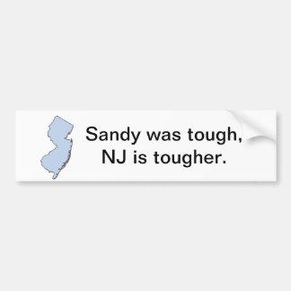 NJ Tough Bumper Sticker
