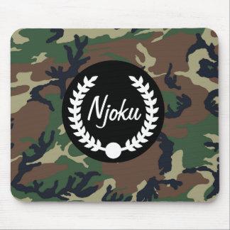 Njoku Camo 'Wreath' Mousepad #2.