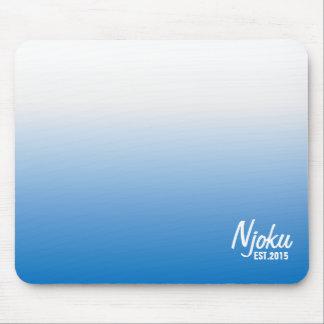 Njoku 'Est.2015' Cold Winter Gradient Mousepad. Mouse Pad