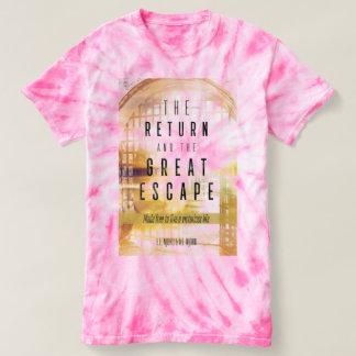 Njoku 'TR&TGE' Book Pink Cyclone T-Shirt. T-Shirt
