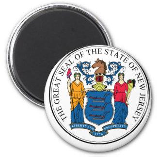 NJPI New Jersey State Seal Magnet