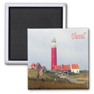 NL-Netherlands-Frisian Islands - Texel-Lighthouse Magnet