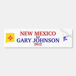 NM for Johnson 2012 sticker