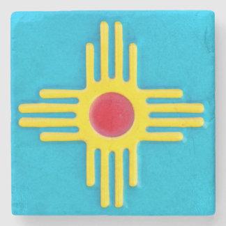 NM Zia Sun Stone Coaster