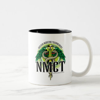 NMCT Caduceus Two-Tone Coffee Mug