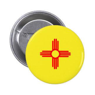 NMflag 6 Cm Round Badge