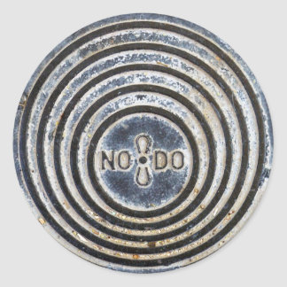 """NO8DO"" Sevilla Manhole Cover Sticker"