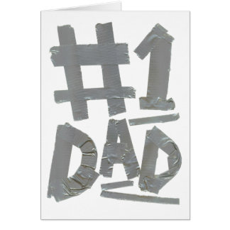 No.1 Dad (Customizable) Card