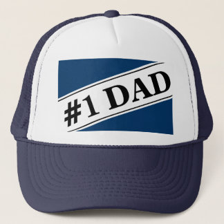 No 1 Dad Trucker Hat