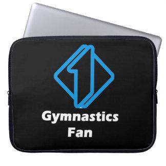 No.1 Gymnastics Fan Laptop Sleeves